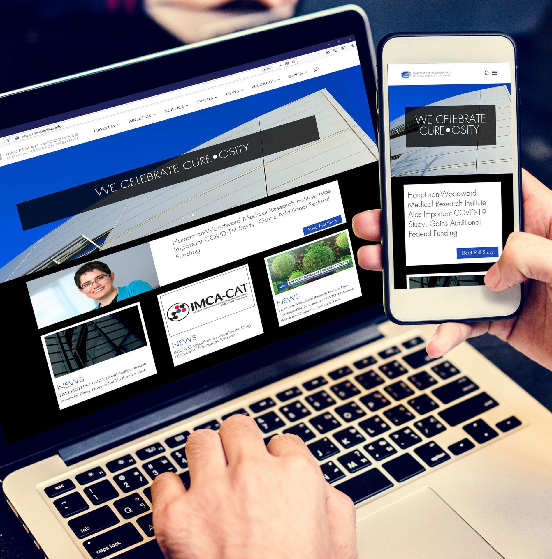 Buffalo Web Design Image of HWI Website