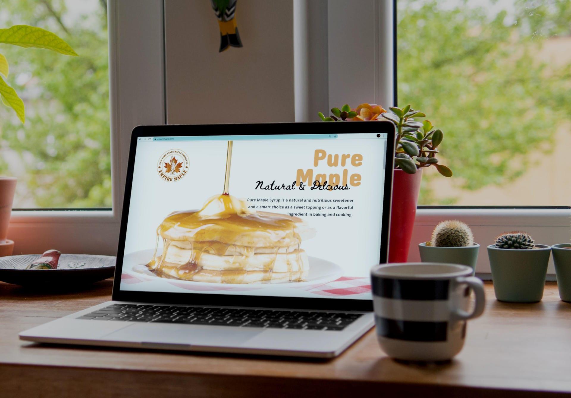 Buffalo Website Design Services used on Empire Maple Website Design